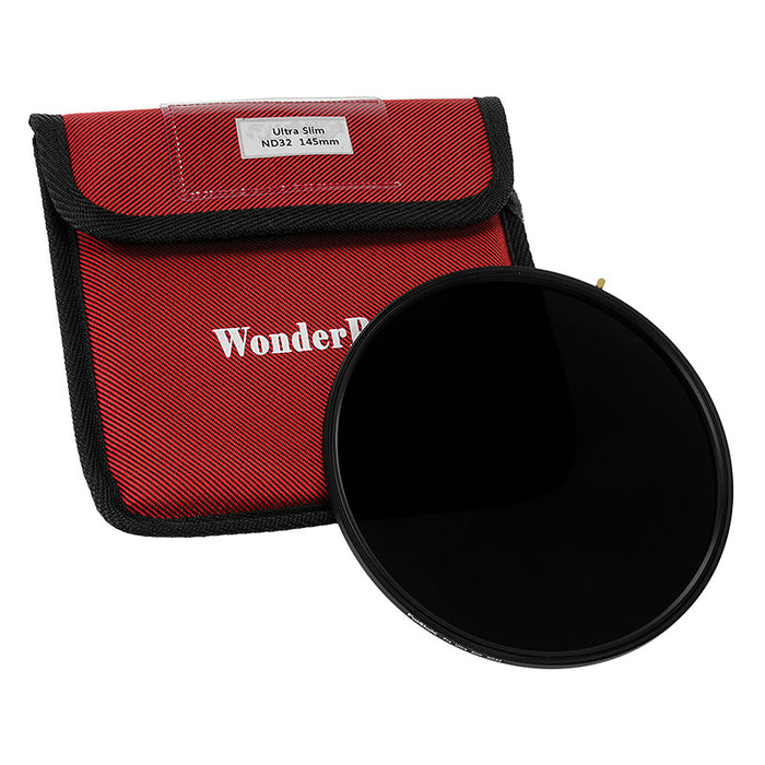 Fotodiox Pro 145mm Ultra Slim Neutral Density 32 (5-Stop) Filter - Multi Coated ND32 Filter (works with WonderPana 145 & 66 Systems)