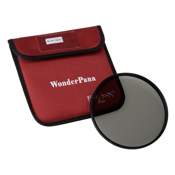 Fotodiox Pro 186mm Slim CPL Filter - Circular Polarizer Filter for WonderPana XL System