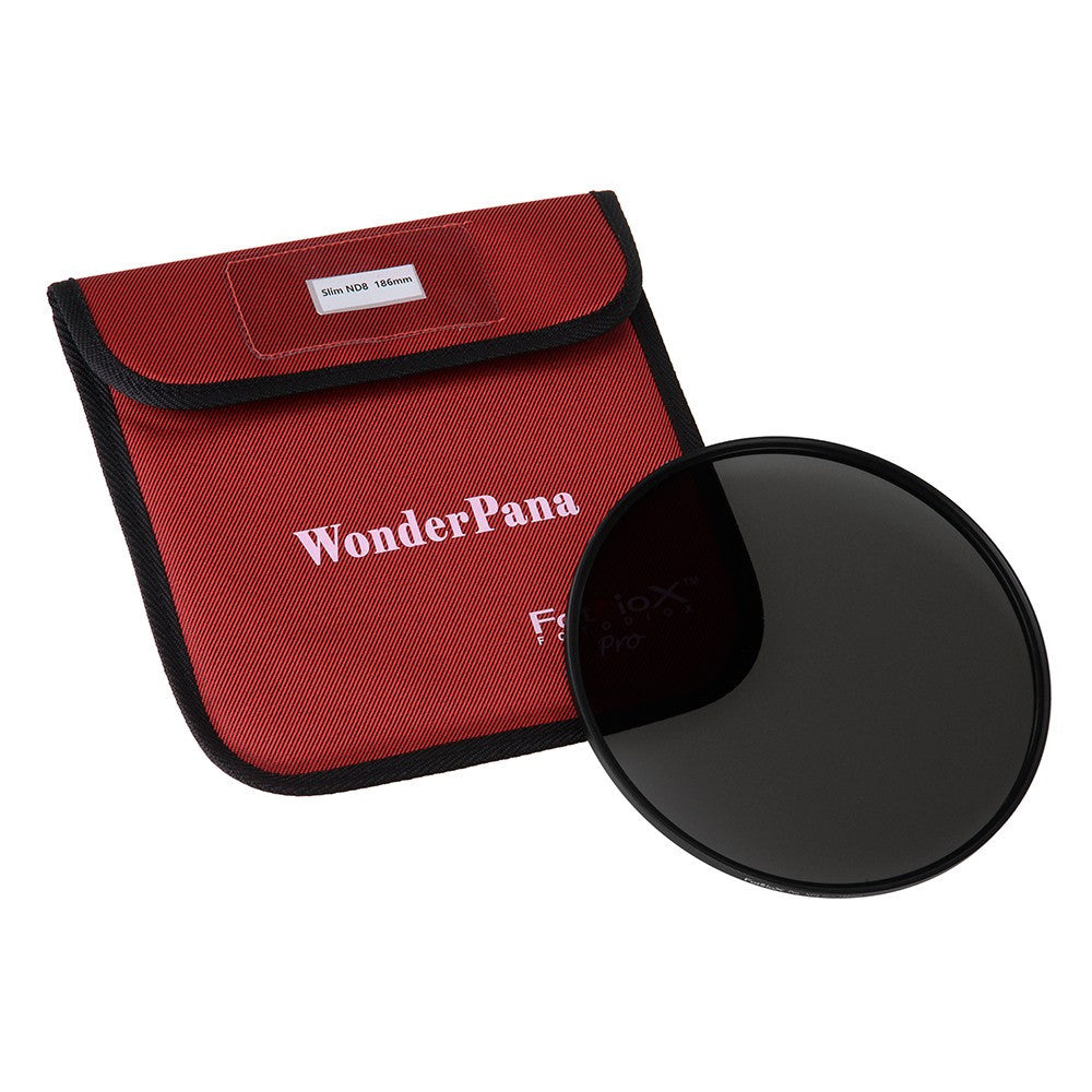 WonderPana 186mm Slim Neutral Density 8 (3-Stop) Filter - Slim ND8 Filter (works with WonderPana 186 Systems)
