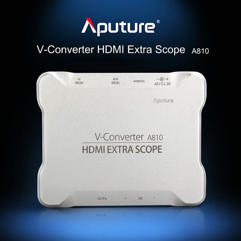 Aputure V-Converter A810 - HDMI Extra Scope, Pro Overlays With Any HDMI Monitor