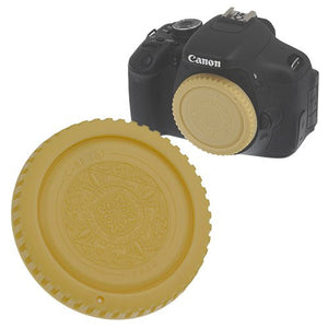Fotodiox Designer Gold Body Cap for All Canon EOS EF & EF-s Cameras