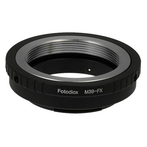 M39/L39 Screw Mount Lens to Fujifilm X-Series (FX) Mount Camera Bodies