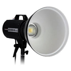 Fotodiox Pro LED-100WA-56 Daylight Studio LED, High-Intensity LED Studio Light for Still and Video - with Dimmable Control, 12V AC Power Adapter, Light Stand bracket