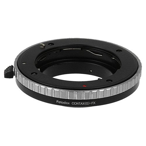 Fotodiox Lens Mount Adapter - Contax G SLR Lens to Fujifilm Fuji X-Series Mirrorless Camera Body