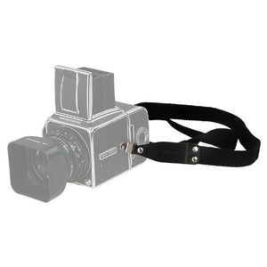 Neck / Shoulder Strap for Vintage Hasselblad V Cameras - Leather & Nylon Webbing