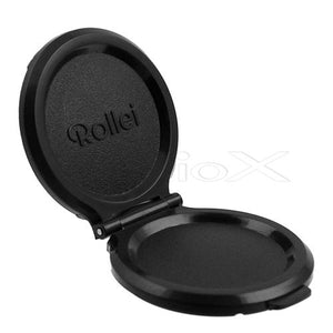Fotodiox Pro Lens Cap for Rollei TLR Camera with Bay II (B2) f2.8 Take Lens - Plastic Replacement, fits Twin Lens Rollei (TLR) Bay II Mount, 75mm F2.8 Take Lens