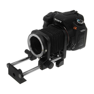 Fotodiox Macro Bellows for Sony Alpha A-Mount (and Minolta AF) Mount SLR Camera System for Extreme Close-up Photography