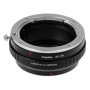 Sony/Minolta A-Mount D/SLR Lens to Fujifilm X-Series (FX) Mount Camera Body Adapter