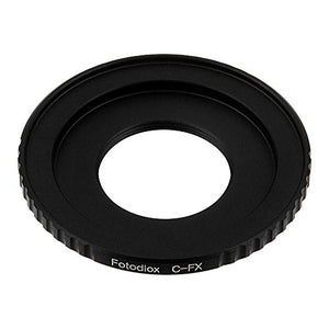 C-Mount Cine Lens to Fujifilm X-Series (FX) Mount Camera Bodies