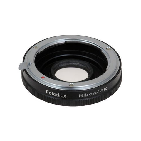 Nikon Nikkor F Mount D/SLR Lens to Pentax K (PK) Mount SLR Camera Body Adapter