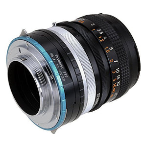 Canon FD SLR lens to Fujifilm X-Series (FX) Mount Camera Bodies