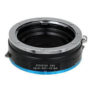 Canon EOS Lens to Fujifilm X-Series (FX) Mount Camera Bodies