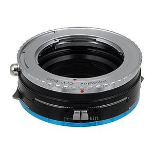 Contax/Yashica Lens to Fujifilm X-Series (FX) Mount Camera Bodies