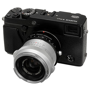 Contarex Lens to Fujifilm X-Series (FX) Mount Camera Bodies