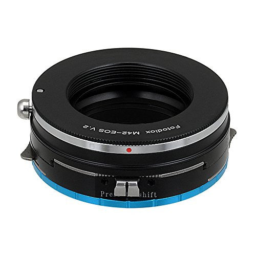 Fotodiox Pro Lens Mount Shift Adapter - M42 Type 2 Screw Mount SLR Lens to Fujifilm Fuji X-Series Mirrorless Camera Body