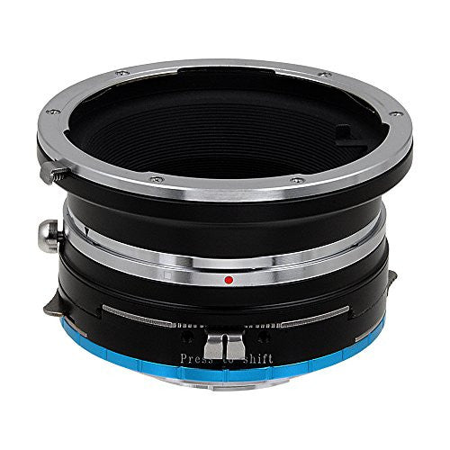 Fotodiox Pro Lens Mount Shift Adapter - Mamiya 645 (M645) Mount Lenses to Fujifilm Fuji X-Series Mirrorless Camera Body