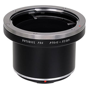 Pentax 645 SLR Lens to Fujifilm X-Series (FX) Mount Camera Body Adapter