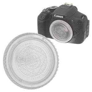 Fotodiox Designer Clear Body Cap for All Canon EOS EF & EF-s Cameras