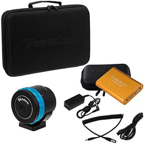Fotodiox Pro PowerLynx 6-Pin Kit, B4 Lens to MFT Black Magic Pocket Cinema Adapter & Turbopack 9000 Battery Kit w/6 Pin Cable