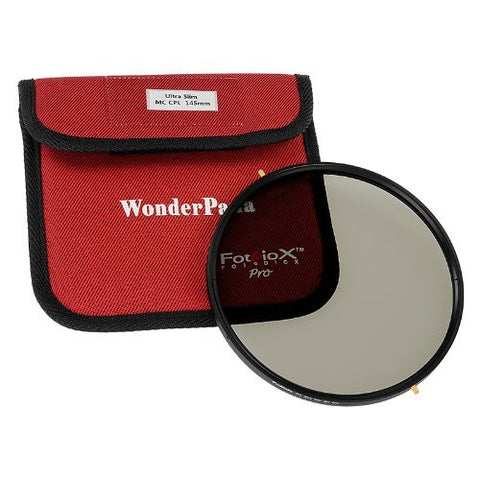 Fotodiox Pro 145mm Slim Multi-Coated Circular Polarizer (MC-CPL) Filter