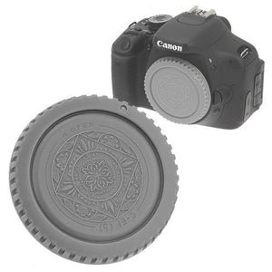 Fotodiox Designer Gray Body Cap for All Canon EOS EF & EF-s Cameras