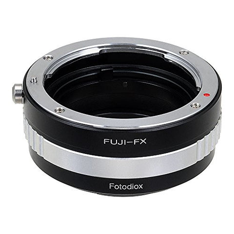 Fuji X-Mount SLR Lens to Fujifilm X-Series (FX) Mount Camera Bodies