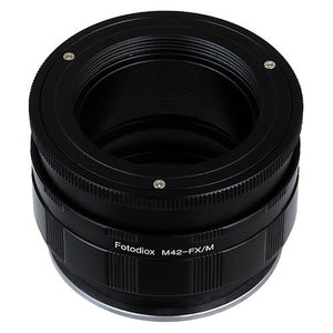 M42 Screw Mount Lens to Fujifilm X-Series (FX) Mount Camera Bodies