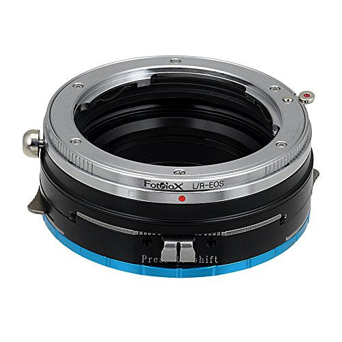Fotodiox Pro Lens Mount Shift Adapter - Leica R SLR Lens to Fujifilm Fuji X-Series Mirrorless Camera Body