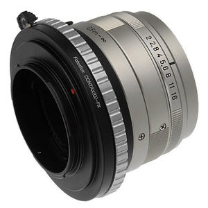 Contax G Lens to Fujifilm X-Series (FX) Mount Camera Bodies