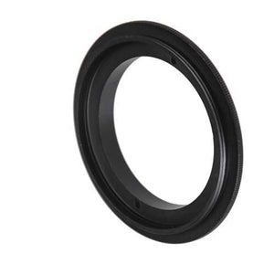 Macro Reverse Ring for Nikon - Camera Mount to Filter Thread Adapter for Nikon F (FX & DX) Camera Mounts