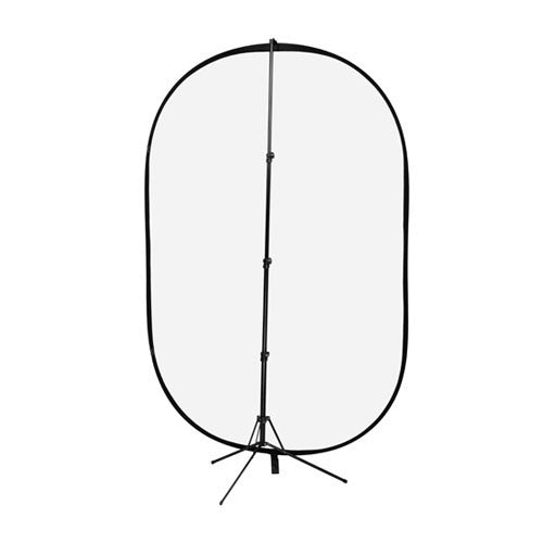 for Outdoor and Studio Lighting Fotodiox 5x7 Collapsible Soft Diffuser Panel kit w//Stand