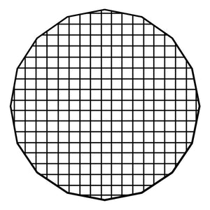 "Fotodiox Pro Eggcrate Grid for EZ-Pro 24"" Beauty Dishes"
