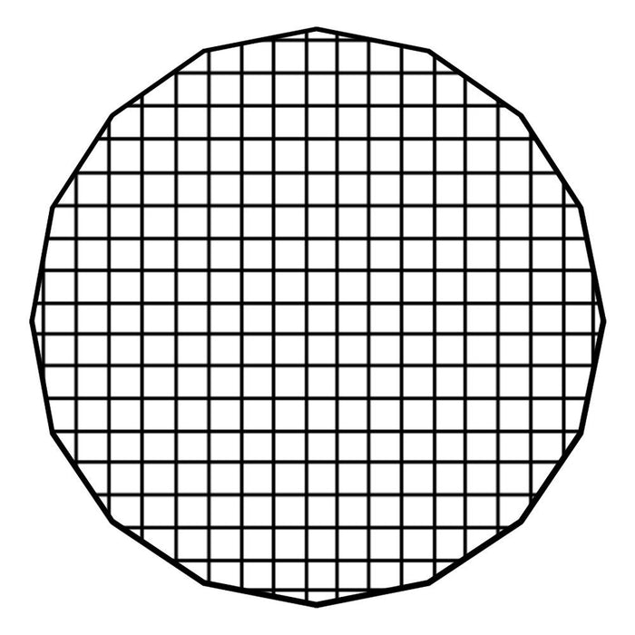 "Fotodiox Pro Eggcrate Grid for EZ-Pro Beauty Dishes - Fits EZ-Pro Beauty Dish - 50 Degree Grid (2x2x1.5"" Openings)"
