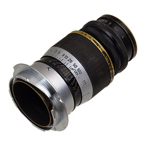 Fotodiox Lens Adapter - Compatible with L39/LTM (x0.977 Pitch) Leica Thread Mount Lenses to Leica M Mount Rangefinder Cameras with 35mm/135mm Frame Lines