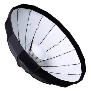 "Pro Studio Solutions EZ-Pro 32"" (80cm) Beauty Dish and Softbox Combination with Broncolor Speedring for Bronocolor (Pulso, Primo, and Unilite), Flashman, and Compatible"