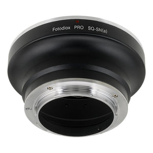 Fotodiox Pro Lens Mount Adapter - Bronica SQ Mount Lens to Sony Alpha A-Mount (and Minolta AF) Mount SLR Camera Body
