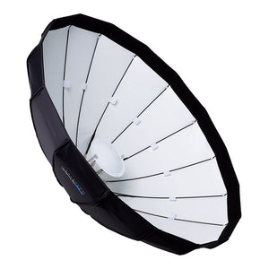 "Pro Studio Solutions EZ-Pro 40"" (100cm) Beauty Dish and Softbox Combination with Multiblitz V Speedring for Multiblitz V, Varilux, and Compatible"