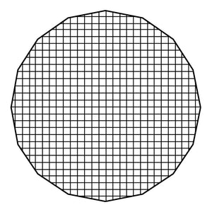 "Fotodiox Pro Eggcrate Grid for EZ-Pro 48"" Beauty Dishes"