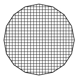 "Fotodiox Pro Eggcrate Grid for EZ-Pro 40"" Beauty Dishes"