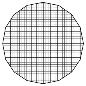 "Fotodiox Pro Eggcrate Grid for EZ-Pro 56"" Beauty Dishes"