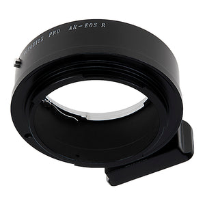 Fotodiox Pro Lens Mount Adapter Compatible with Konica Auto-Reflex (AR) SLR Lenses to Canon RF (EOS-R) Mount Mirrorless Camera Bodies