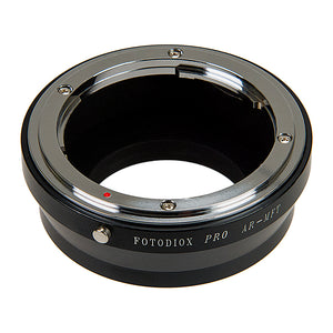 Fotodiox Pro Lens Mount Adapter - Konica Auto-Reflex (AR) SLR Lens to Micro Four Thirds (MFT, M4/3) Mount Mirrorless Camera Body