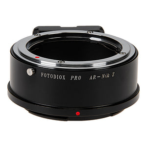 Fotodiox Pro Lens Mount Adapter Compatible with Konica Auto-Reflex (AR) SLR Lenses to Nikon Z-Mount Mirrorless Camera Bodies