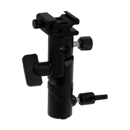 Fotodiox Elite Flash Umbrella Bracket with Swivel/Tilt Head, Mountable to Light stand and Tripod for Flash Speedlight
