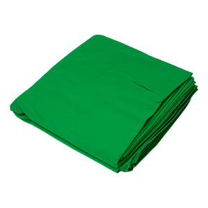 Muslin 10ft Cloth Backdrop - Chromakey Green Muslin Background **Clearance**