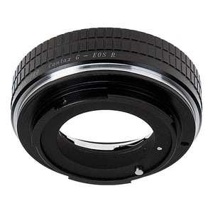 Fotodiox Pro Lens Mount Adapter Compatible with Contax G SLR Lenses to Canon RF (EOS-R) Mount Mirrorless Camera Bodies