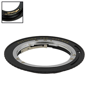 Fotodiox Pro Lens Mount Adapter Compatible with Contax/Yashica (CY) SLR Lens to Canon EOS (EF, EF-S) Mount SLR Camera Body - with Generation v10 Focus Confirmation Chip