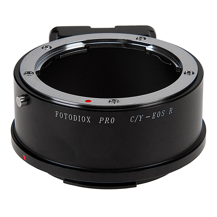 Fotodiox Pro Lens Mount Adapter Compatible with Contax/Yashica (CY) SLR Lenses to Canon RF (EOS-R) Mount Mirrorless Camera Bodies