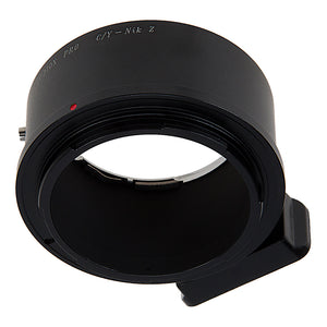 Fotodiox Pro Lens Mount Adapter Compatible with Contax/Yashica (CY) SLR Lenses to Nikon Z-Mount Mirrorless Camera Bodies