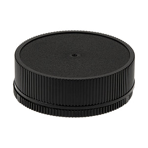 Fotodiox Camera Body & Rear Lens Cap Set for All Leica R SLR Compatible Cameras & Lenses - Black